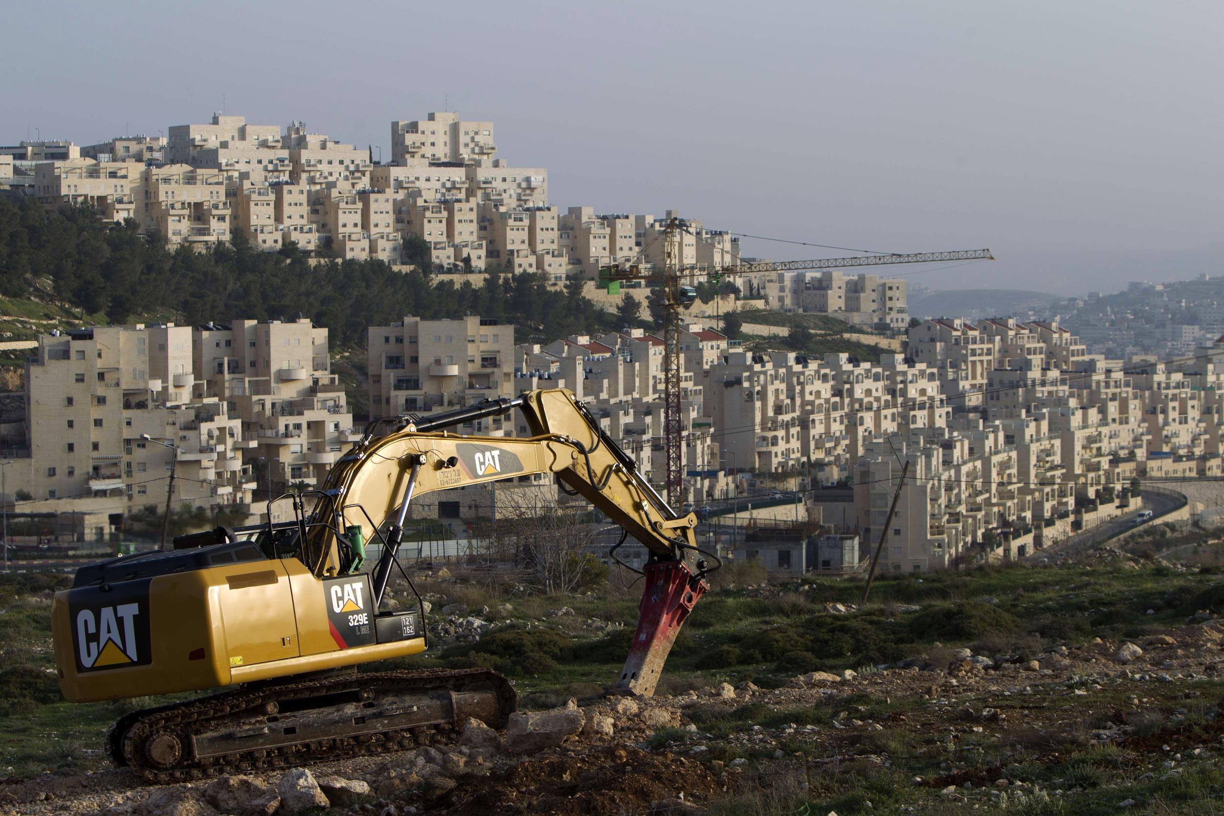 Una colonia alle porte di Gerusalemme Est