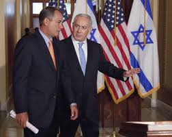 Benjamin Netanyahu e John Boehner al Congresso nel 2011 (Foto Evan Vucci/ AP)
