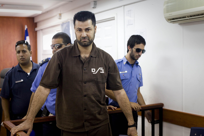 L'attivista palestinese Abdallah Abu Rahme condannato da un tribunale militare nel 2010