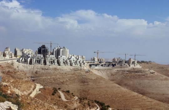 Insediamento israeliano di Maale Adumim in Cisgiordania (Foto: Marco Di Lauro/Getty Images)