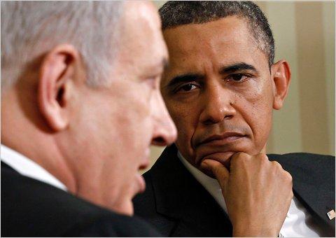 Il premier israeliano Netanyahu e il presidente Usa Obama