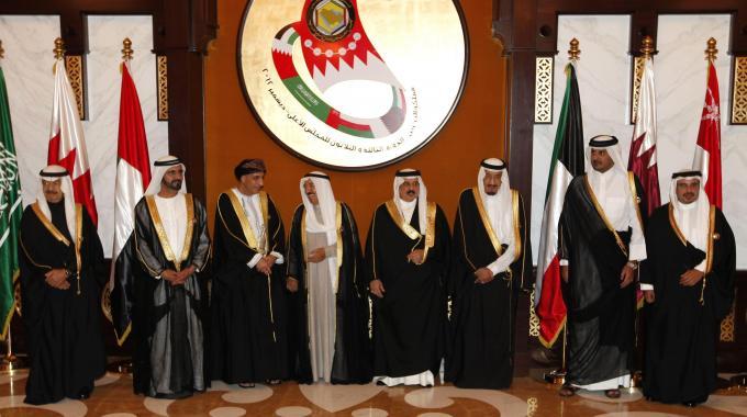 I membri del Consiglio di Cooperazione del Golfo