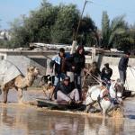 Israele apre le dighe e inonda la Valle di Gaza