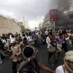 Notte di raid in Yemen