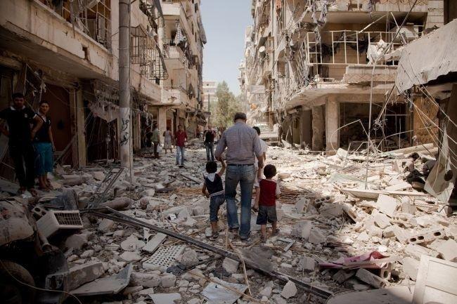 Le rovine di Aleppo (Foto: AraNews.net)
