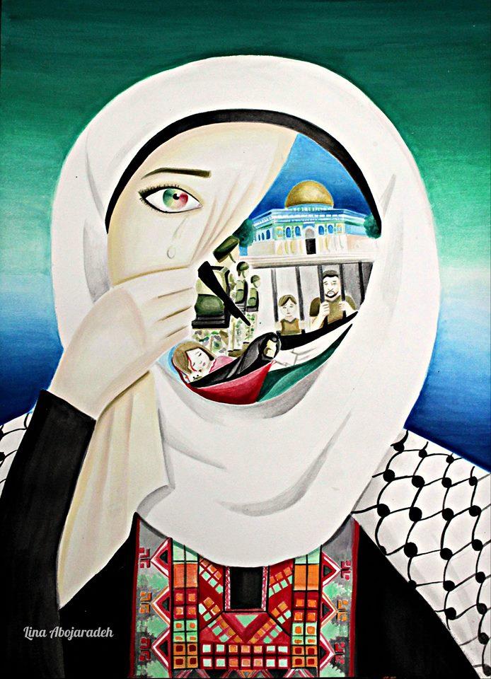 Disegno di Lina Abojardeh