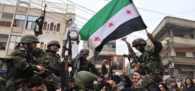 Uomini dell'Esercito Libero Siriano