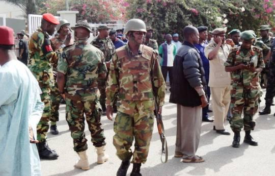 Soldati nigeriani (AMINU ABUABAKAR/AFP/Getty Images)