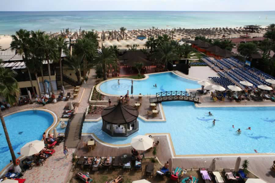Un resort a Hammamet