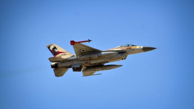 Un F-16 dell'aviazione israeliana (Foto: IDF)