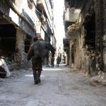 Tra le rovine di Yarmouk, Hamas combatte l'Isis