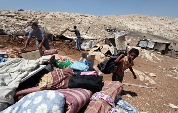 Beduini palestinesi, foto di Issam Rimawi