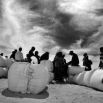 FOTO. Profughi abbandonati da due anni nel deserto tra Tunisia e Libia