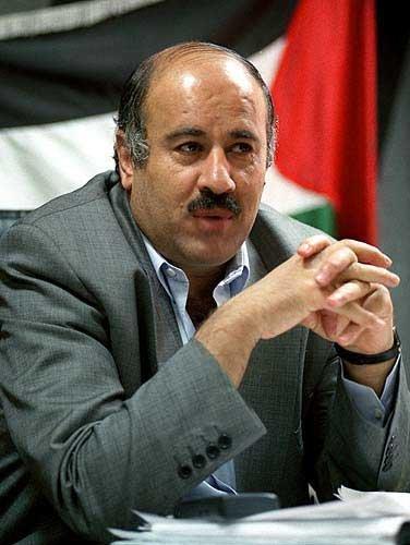 Il presidente della federcalcio palestinese Jibril Rajoub
