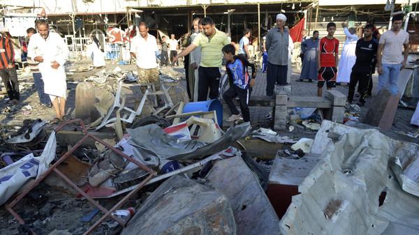 Un attacco Isis a Sadr City nel 2015