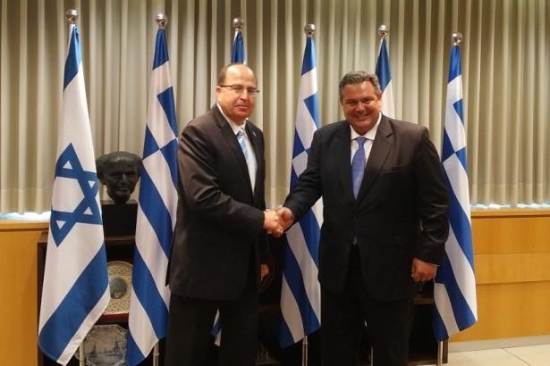 Moshe Yaalon e Panos Kammenos