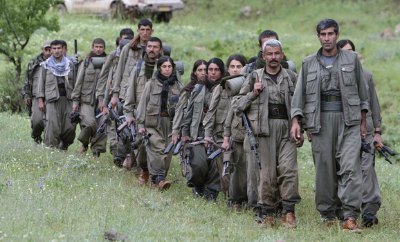 Combattenti del Pkk (Photo: Reuters/Azad Lashkari )