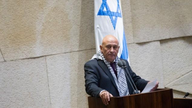 L'ex deputato palestinese israeliano Basel Ghattas