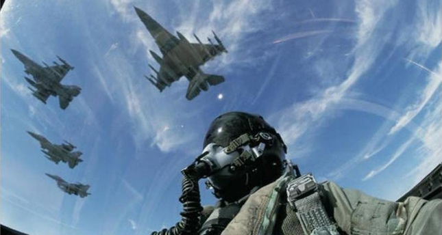 F-16 turchi impegnati nel nord dell'Iraq