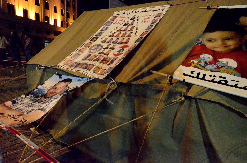 Le proteste durante YouStink (Foto: Mirca Garuti)