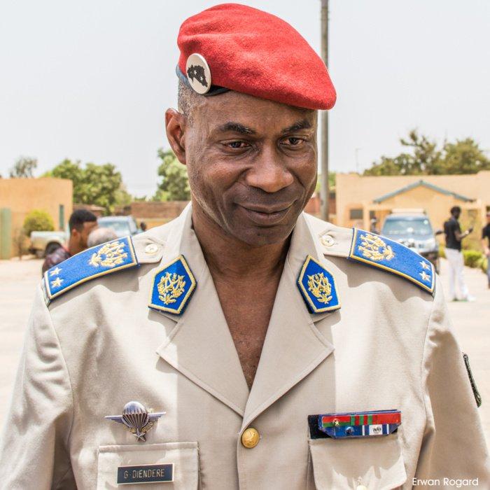 Il generale Gilbert Dienderé