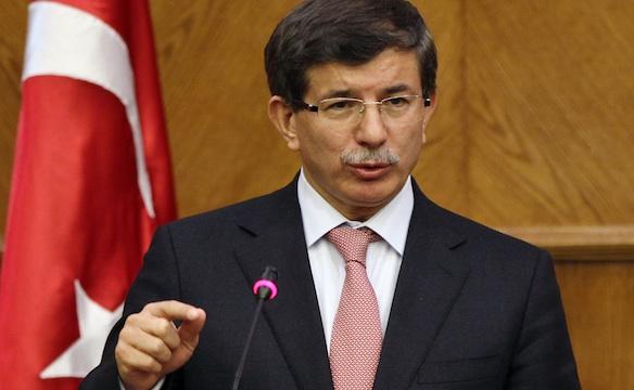 Il premier turco Ahmet Davutoglu
