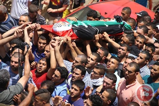 Il funerale di Ahmad Izzat Khatatbeh (Foto: Ma'an News)