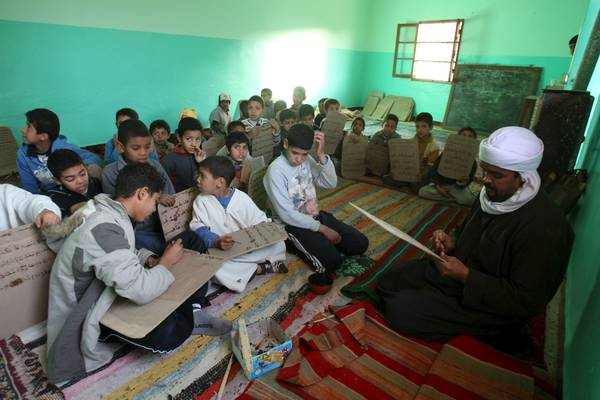 La scuola coranica di Ghardaia (fonte: Ansamed)