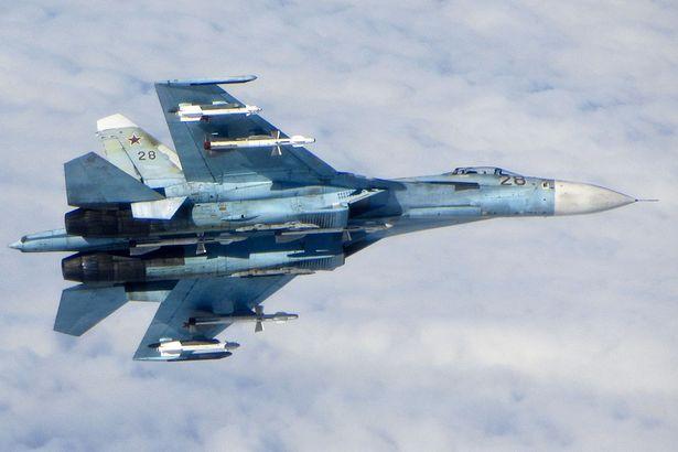 Un jet russo SU-25