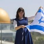 """Hotovely: """"Il mio sogno è sventolare la bandiera israeliana sul Monte del Tempio"""""""