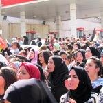 Le ragazze dell'Intifada, smalto alle unghie e pietre nelle mani