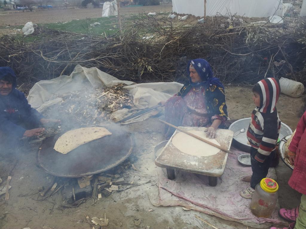 Campi spontanei alla periferia di Raqqa. Foto: Federica Iezzi