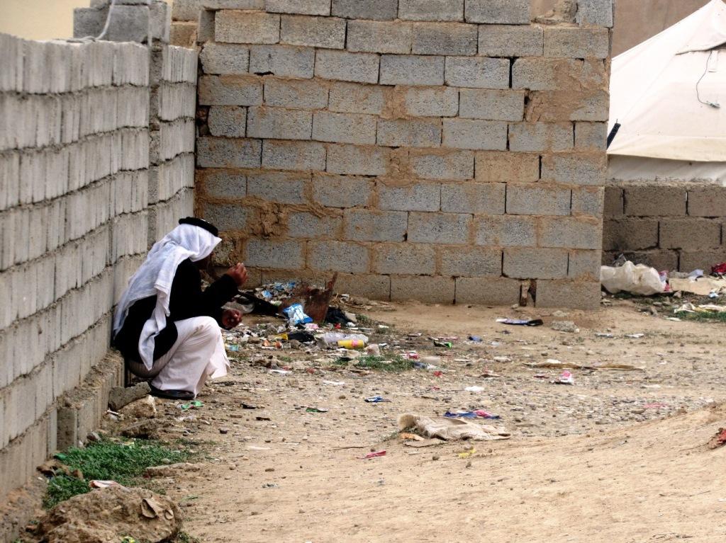 Il villaggio di Omar a sud di Kirkuk (Foto: Chiara Cruciati/Nena News)