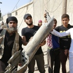 Raqqa civilians on the line