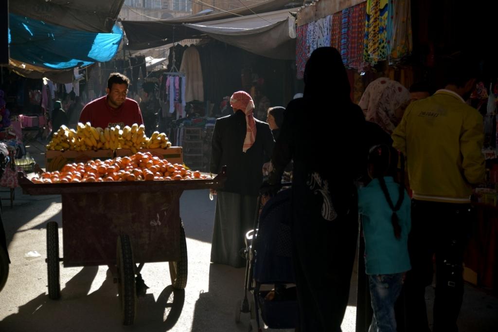 Il mercato di Haseke (Foto: Silvia Todeschini)