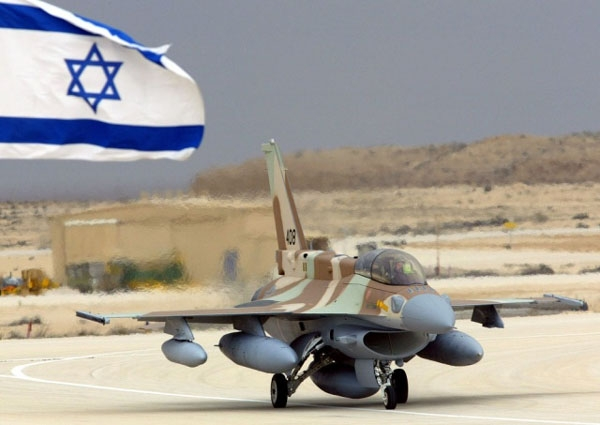 Un aereo da guerra israeliano. (Foto : Google Commons)