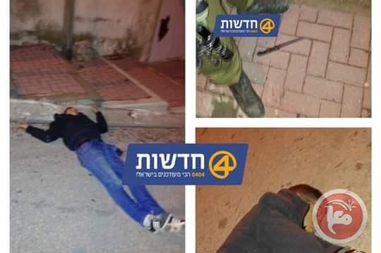 Una delle vittime palestinese a Tel Rumeida. Foto: Hadashot 4 ripresa da Ma'an News