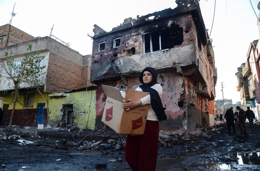 Il quartiere di Sur a Diyarbakir (Fonte: Kurdish Info)