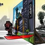 Satira contro la finzione Daesh