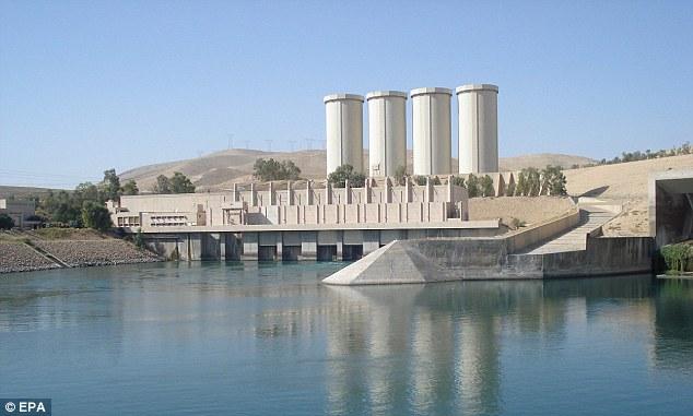 La diga di Mosul (Foto: EPA)