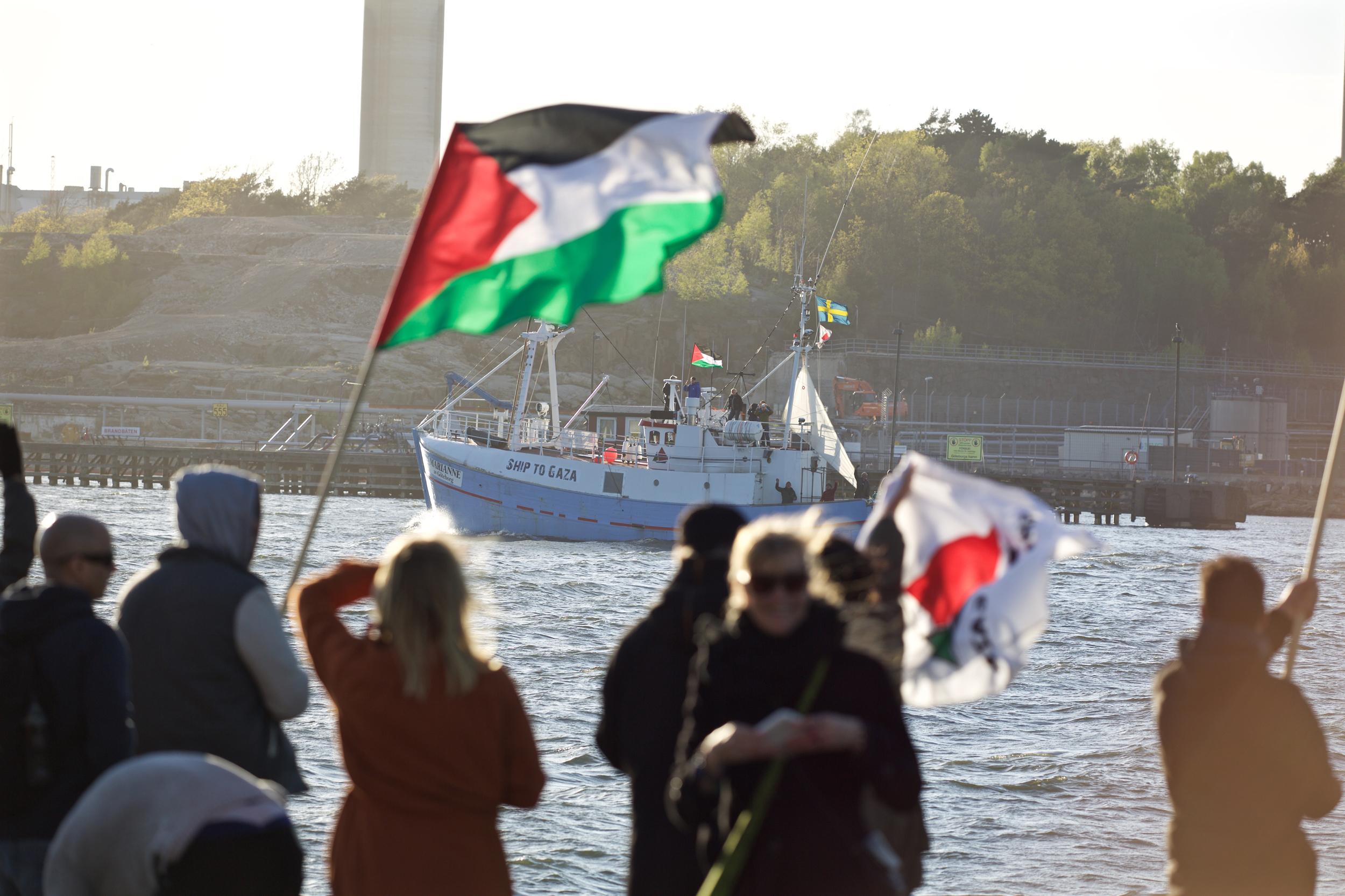 Un'immagine del peschereccio Marianne, parte della precedente Flotilla (Foto: Freedom Flotillla)