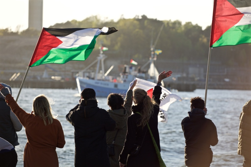 Marianne's boa, the previous Freedom Flotilla (Photo: Rumbo a Gaza)