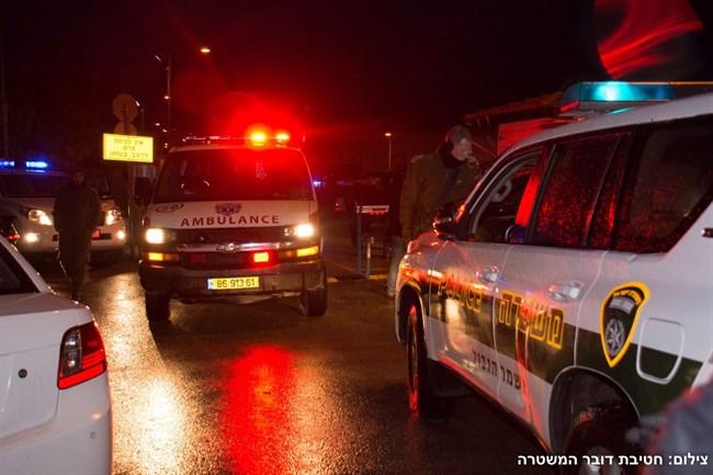 Luogo in cui è avvenuto l'attacco di ieri a Beit Horon. (Foto: Polizia israeliana)