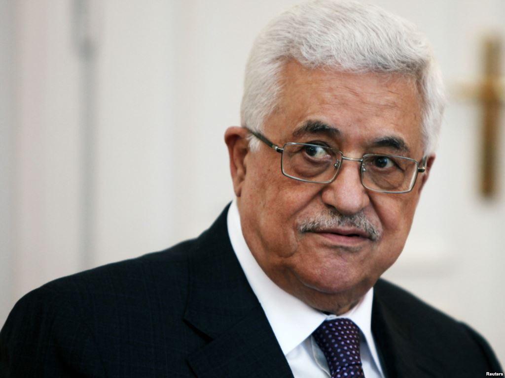 Il presidente palestinese Mahmoud Abbas (Abu Mazen)