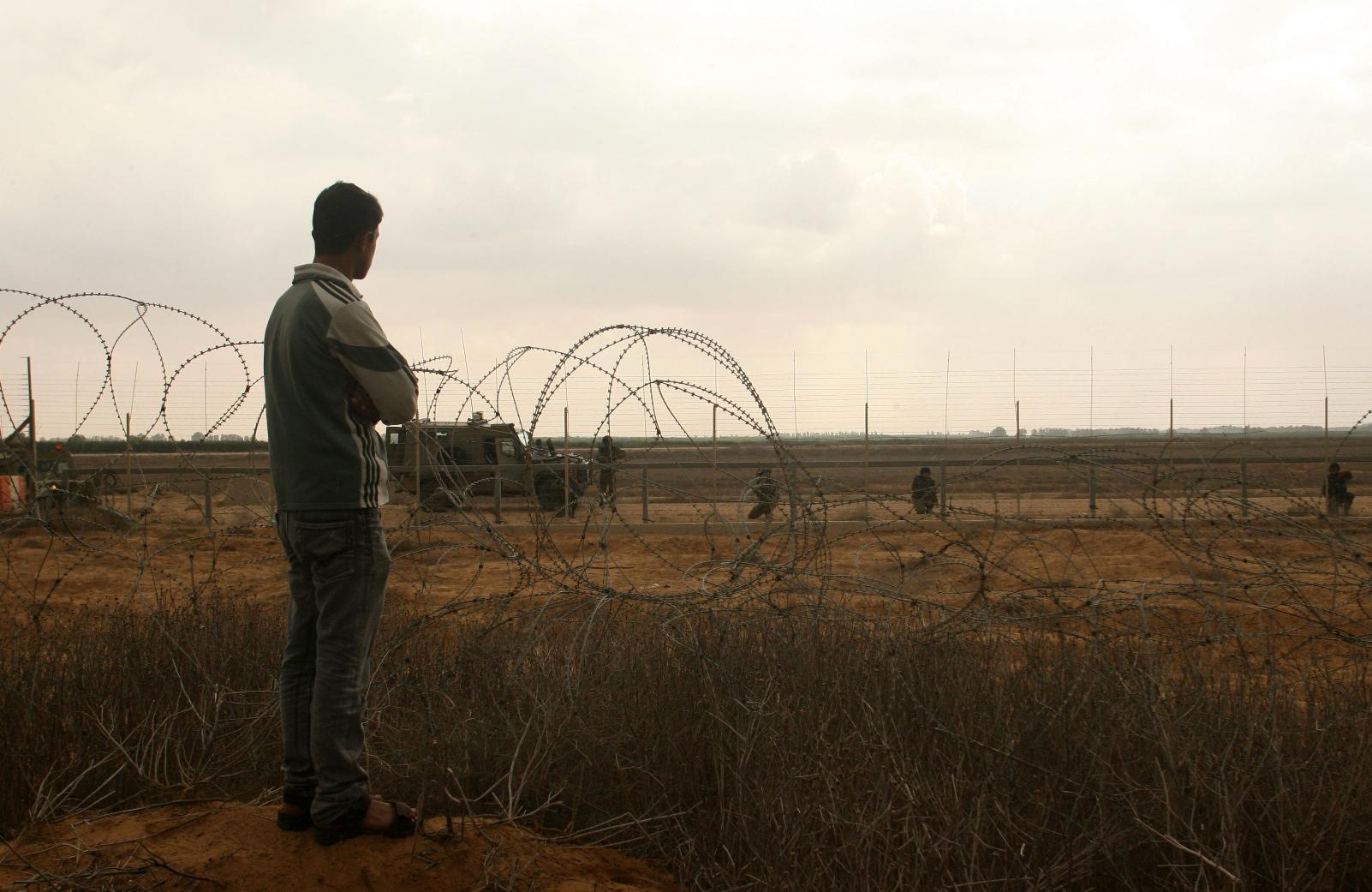 Buffer zone tra Gaza e Israele