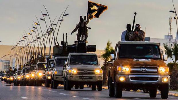 Membri dell'Isis in Libia