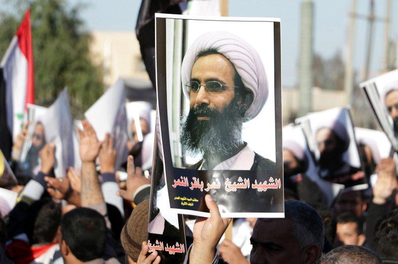 Proteste anti-saudite in Iraq (Foto: Ali Abbas/EPA /Landov)