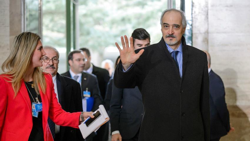 L'ambasciatore siriano all'Onu al-Ja'afari
