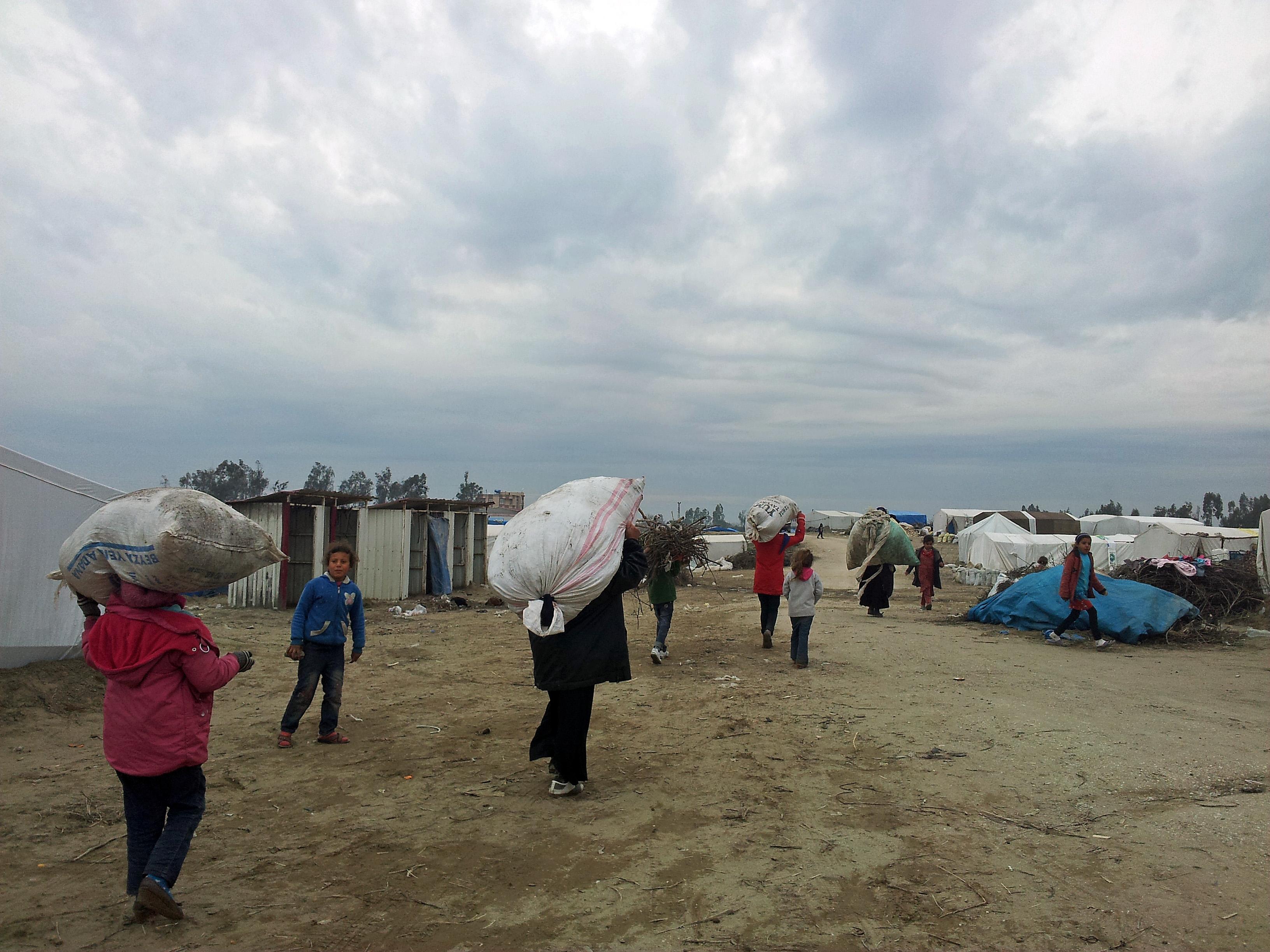 Campo profughi sul lato siriano di Kilis  (Foto: Federica Iezzi)