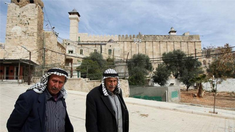 Following the massacre, the Ibrahimi Mosque was divided, with Muslim access to the holy site reduced [Getty Images]